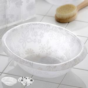 フィルロ 湯桶け ウォッシュボール 洗面器 R 3L アクリル製 ( 湯おけ 手桶 バス用品 )|livingut