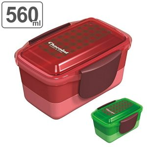 お弁当箱 2段 ドームランチボックス ショコラ 女性用 550ml ( 弁当箱 ふんわり弁当箱 ドーム型 食洗機対応 )