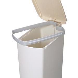 ゴミ箱 ふた付き ペダル式 セパ 超スリムペダル 26L ( スリム ペダル ダストボックス ) livingut 04