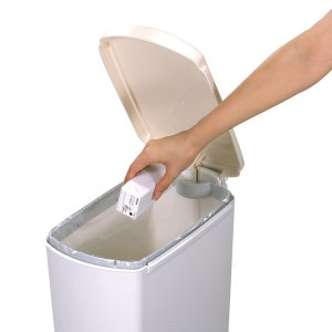 ゴミ箱 ふた付き ペダル式 セパ 超スリムペダル 26L ( スリム ペダル ダストボックス ) livingut 05