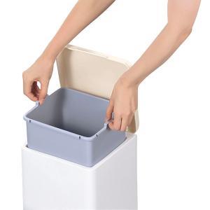ゴミ箱 ふた付き ペダル式 セパ バケツペダルペール 12L ( ペダル ダストボックス ごみ箱 )|livingut|06