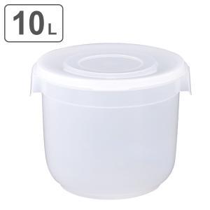 漬物容器 10L 深型 クリア 漬物シール 10型 ( 漬け物容器 漬物樽 お漬物 )の画像