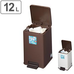 ゴミ箱 キッチン 消臭ペダルペール バケツ付12型 12L ( ごみ箱 ダストボックス ふた付 分別 )
