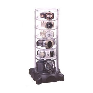 タワー型時計コレクションケースG ブラック コレクタワー・G ( GーSHOCK ジーショック 腕時計収納 時計収納 ) livingut