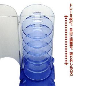 タワー型時計コレクションケースG ブラック コレクタワー・G ( GーSHOCK ジーショック 腕時計収納 時計収納 ) livingut 03