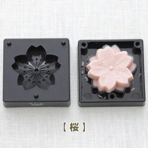 練りきり型 花シリーズ 菊・桜・梅 ヘラ付き ( 押し寿司型 ご飯押し型 )|livingut|03