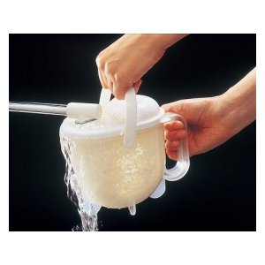 ■在庫限り・入荷なし■対流式米研ぎ器(速洗力 キッチン 便利グッズ 米とぎ器 )|livingut|02