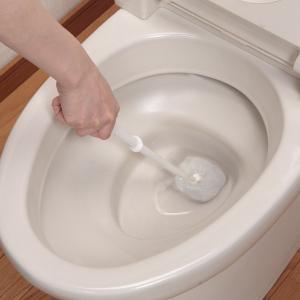 トイレブラシ びっくりフレッシュ びっくりトイレクリーナー ( トイレ 掃除 ブラシ )|livingut|04