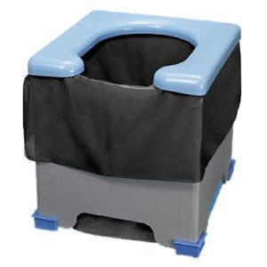 非常用簡易トイレ 折りたたみ式