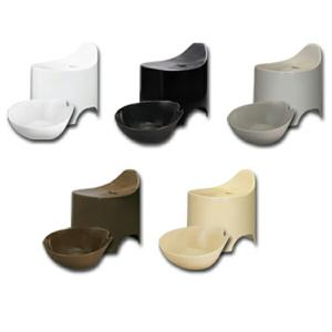 デュロー 風呂イス&湯桶セット シックカラー 5色( バスグッズ 風呂椅子 洗面器 おしゃれ )|livingut