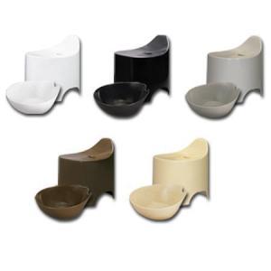 デュロー 風呂イス&湯桶セット シックカラー 5色( バスグッズ 風呂椅子 洗面器 おしゃれ )|livingut|02