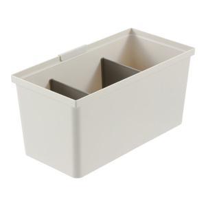 引き出し式システムキッチンの整理整頓に便利なトトノシリーズのフリーポケットLです。引き出しのサイズや...