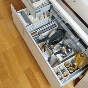 キッチン収納ケース ディッシュスタンド S システムキッチン 引き出し用 トトノ ( 皿立て ディッシュラック 食器収納 )|livingut|17