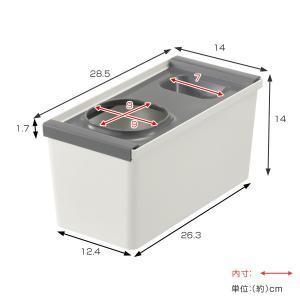 キッチン収納ケース レジ袋収納ボックス システムキッチン 引き出し用 トトノ ( レジ袋ストッカー ゴミ袋ストッカー ポリ袋ストッカー )|livingut|04