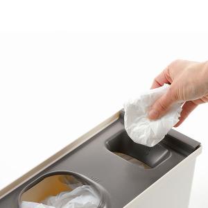 キッチン収納ケース レジ袋収納ボックス システムキッチン 引き出し用 トトノ ( レジ袋ストッカー ゴミ袋ストッカー ポリ袋ストッカー )|livingut|10