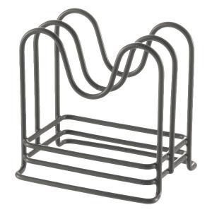 キッチン収納ケース 鍋ふたスタンド コンパクト システムキッチン 引き出し用 トトノ ( 鍋蓋スタンド まな板スタンド 収納スタンド )|livingut