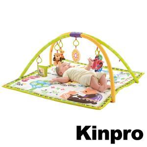 プレイジム リッチェル Kinpro キンプロ ベビーグッズ おもちゃ ( ベビージム プレイマット 出産祝い )|livingut