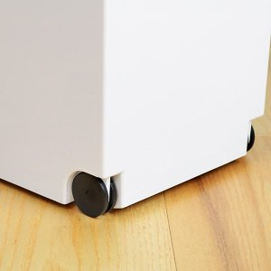 ゴミ箱 分別 2段 スリム パッキン付き 防臭 38L 縦型 分別ゴミ箱 ベーシックカラー ( キッチン 分別 ごみ箱 ふた付き プッシュ ペダル )|livingut|12