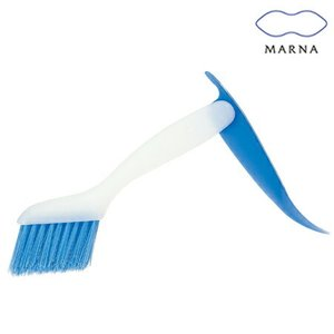 MARNA(マーナ) 掃除の達人 みぞスッキリサッシブラシ 掃除ブラシ ( 溝ブラシ 窓サッシ ハンディブラシ )