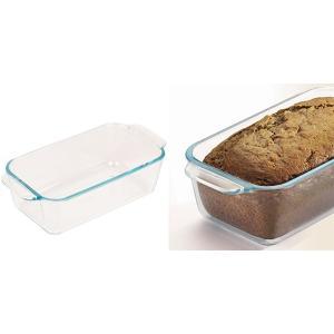 パウンドケーキ型 26cm 強化ガラス パイレックス Pyrex オーブンウェア 皿 食器 ( パウンドケーキ 型 容器 耐熱 ガラス オーブン 電子レンジ )|livingut|03