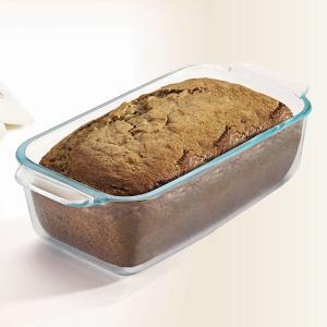 パウンドケーキ型 26cm 強化ガラス パイレックス Pyrex オーブンウェア 皿 食器 ( パウンドケーキ 型 容器 耐熱 ガラス オーブン 電子レンジ )|livingut|06
