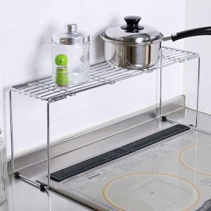 シンプルで機能的なフォルムはキッチンで大活躍です。コンロ奥スペースを有効利用できます。鍋やフライパン...