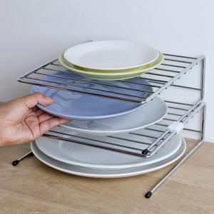 食器ラック キッチンストレージ ディッシュラック ( 食器収納棚 皿収納 食器立て ) livingut