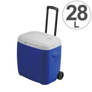 クーラーボックス リガードホイールクーラー 大容量 キャスター付き 28L キャプテンスタッグ ( 保冷バッグ クーラーバッグ )