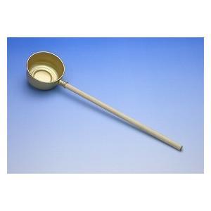 ●直径8cmの水杓です。【商品詳細】サイズ:約 直径8cm、柄の長さ30cm 内容量:1本 材質:金...