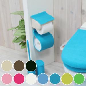 ペーパーホルダーカバー カラーショップ ( トイレ用品 トイレットペーパー トイレタリー )の写真