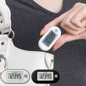万歩計 ポケット万歩 EX-150 ( 歩数計 ウォーキング マラソン ジョギング 健康 ダイエット )|livingut