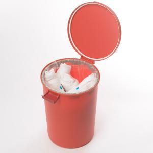 ゴミ箱 密閉 kcud クード ラウンドロック ふた付き 12L 分別 日本製 ( ごみ箱 ごみばこ ダストボックス )|livingut|14