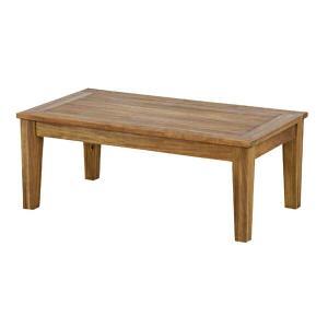 センターテーブル アルンダ アカシア材 幅90cm ( 机 リビングテーブル ローテーブル )|livingut