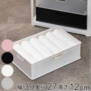 収納ボックス 収納ケース squ+ インボックス M プラスチック 日本製 ( 小物入れ 収納 カラ...