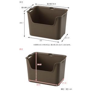収納ボックス カタス L カラーボックス インナーボックス 引き出し ( 収納ケース 収納 プラスチック ケース ボックス )|livingut|04
