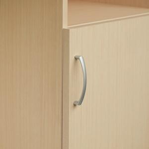 オーダー本棚扉専用 ハンドル変更オプション アーチハンドル ※扉と同時にご購入ください。 ( オーダーメイド セミオーダー )|livingut|02