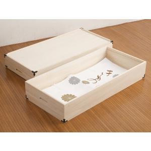 桐 衣装ケース 衣装箱 2段 日本製 幅91cm ( 完成品 桐衣装箱 天然木 木製 )|livingut|04