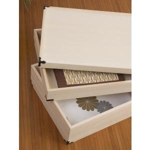 桐 衣装ケース 衣装箱 2段 日本製 幅91cm ( 完成品 桐衣装箱 天然木 木製 )|livingut|06