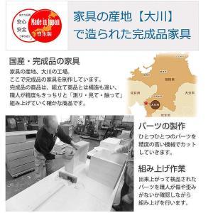 桐 衣装ケース 衣装箱 2段 日本製 幅91cm ( 完成品 桐衣装箱 天然木 木製 )|livingut|09