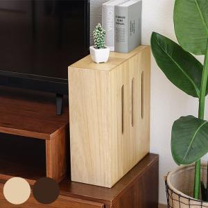 【15日限定クーポン配布】ケーブル・ルーター収納ボックス 桐製 タップボックス