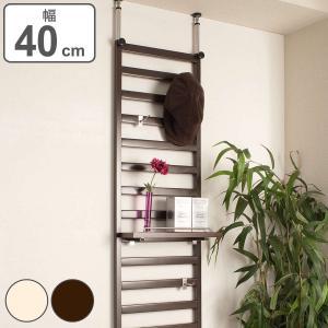 突っ張りラダーラック 家具設置用 幅40cm