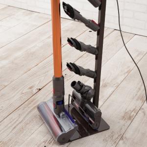 突っ張り 掃除機ストッカー クリーナースタンド ( 掃除機用スタンド 掃除機収納 クリーナー収納 )|livingut|16