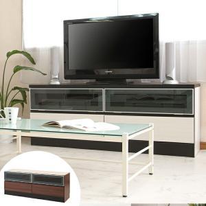 壁面収納 テレビ台用下置き台 フラップ扉 ウォールストレージ 幅130cm