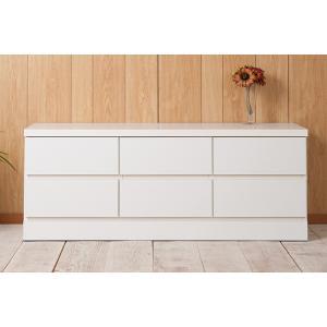 ベンチチェスト 2段 ローチェスト シンプル ホワイト 幅119.5cm ( チェスト タンス 完成品 ) livingut 05