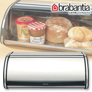 brabantia(ブラバンシア) ブレッドビン ロールトップ クローム ( パンケース キッチン収納 )|livingut