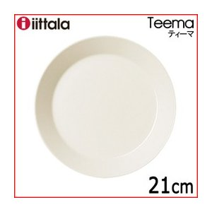 イッタラ ティーマ プレート21cm ホワイト|livingwell-de
