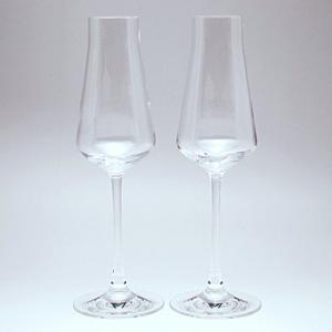 《名入れグラス》代引不可 送料無料 結婚御祝 バカラ Baccarat シャトー シャンパンフルート ペア 2-611-149 【レリーフ・エッチング】 |livingwell-de