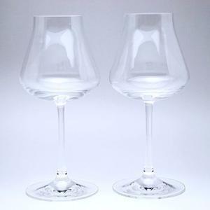 《名入れグラス》代引不可 送料無料 結婚御祝 バカラ Baccarat シャトー ワインS ペア 2-611-150 【レリーフ・エッチング】 |livingwell-de