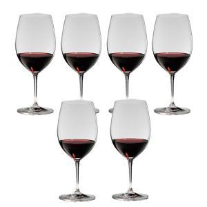 送料無料 リーデル RIEDEL ヴィノム ワイングラス ボルドー 6416/0 6本セット |livingwell-de