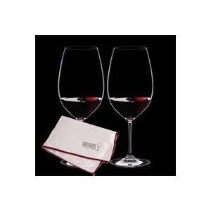 送料無料 マイクロファイバー・ポリッシング・クロス付属 リーデル RIEDEL ヴィノム ワイングラス シラーズ/シラー 6416/30 ペア クロス 0010/07|livingwell-de